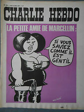 ►CHARLIE HEBDO N°138  - JUILLET 1973 - WOLINSKI