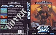 ALTERED BEAST (1990) MEGA DRIVE COVER, NO CARTUCCIA NO BOX
