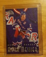 1996-97 (RANGERS) Leaf Sweaters Mark Messier