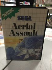 Aerial Assault Sega Master System USATO GARANTITO