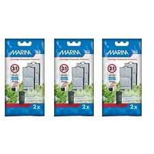 Marina i25 Power Filter Cartridge - Three Packs of Two.