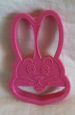 Wilton Taiwan Easter Cookie Cutter - Bunny Rabbit Pink