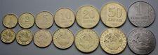 TAJIKISTAN COMPLETE FULL COIN SET 1+2+5+10+20+50 Diram 1 Somoni 2011 UNC LOTof 7