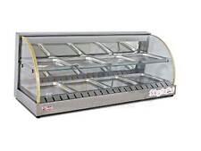 "New 43"" Hot Food Warmer Display Merchandiser Double Shelf SKYFOOD FWD2-43"
