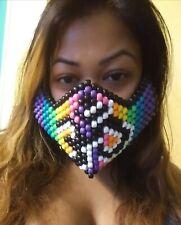 Pony bead/kandi mask: ohm