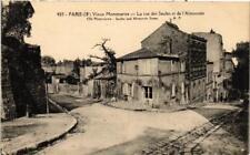 CPA PARIS (18e) MONTMARTRE La rue des Saules. Rue de l'Abreuvoir (539570)