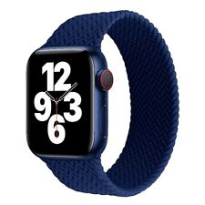 Braided Solo Loop Strap For Apple Watch Bracelet iWatch band 44mm 40mm 38mm 42mm