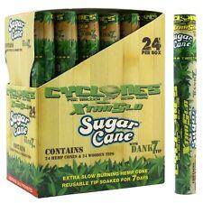 Full Box 24x Tubes ( Cyclones Hemp Cone Sugar Cane Wood Tips ) 1x Cone PerTube