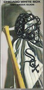 1991 Chicago White Sox Baseball Media Guide