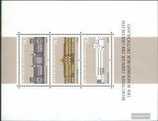 BRD (BR.Deutschland) Block20 (kompl.Ausgabe) gestempelt 1986 Bedeutende Gebäude