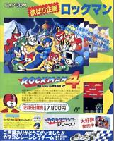 Rockman Mega Man Super Aleste Metal Jack JAPANESE GAME MAGAZINE PROMO CLIPPING
