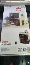 KROOOM CHILDS CASTLE THEMED BOOKCASE NEW FEED YOUR CHILDS IMAGINATION.