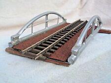 More details for g-gauge 500mm long x 250mm w tube arch bridge deck, scratch build welded steel.