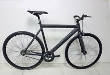 Leader 721 2014 Complete Bike 53 cm Matte Black - With Fixed S2C Rear Hub New!