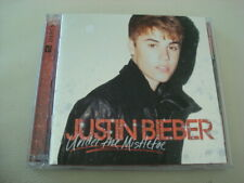 JUSTIN BIEBER Deluxe CD DVD Under The Mistletoe All I Want For Christmas Mariah