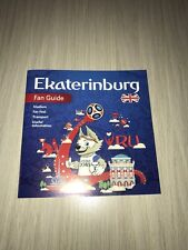 OFFICIAL Fan Guide Ekaterinburg FIFA WORLD CUP WM Russia RUSSIA 2018 inglese