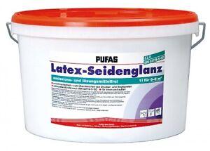 (4,90 EUR/l) PUFAS Latex-Seidenglanz 10l  EAN 4007954121030