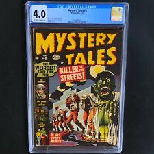MYSTERY TALES #8 (Atlas 1953) 💥 CGC 4.0 💥 RARE STAN LEE & BILL EVERETT PCH