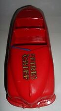 Vintage MARX Fire Chief Friction Car M863