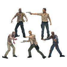 THE Walking Dead Giocattolo Set Action Figure Rick Confezione da 5 Figure Zombie