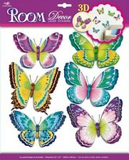 Dekosticker Flügelschlag Schmetterlinge Wandsticker Wandtattoo Home Sticker Deko
