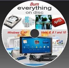 BURNING SOFTWARE- BURNER PROGRAM - WINDOW (XP,VISTA,7,8,8.1,10)