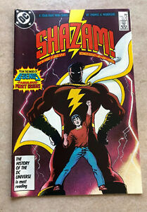 Shazam #1 of 4 The New Beginning Captain Marvel Black Adam Roy Thomas Mandrake