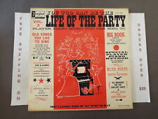 Life Of The Party Vol. Ii Lp W/ Insert Disneyland Wdl 3008