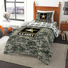 Army Camo Entertainment Twin Comforter