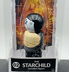 KISS - STARCHILD - Destroyer Paul Stanley Pin Mate #02 Collectable Wooden Figure