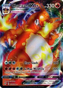 Charizard VMAX - 020/189 - Ultra Rare Darkness Ablaze Pokemon NM-M