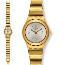 16566b07e3c7 Swatch Irony Lady Boda D Oro Reloj Acero Mujer Clásico Dorado Elegante