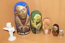 RUSSIAN DOLL STAR WARS  YODA 5PC GIFT STAR WARS IN STOCK NOW
