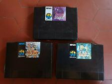 Cartouches de jeux Neo Geo AES officielles / cartouches vides