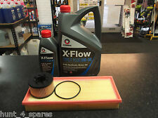 FORD MONDEO MK3 2.0 / 2.2 TDCI SERVICE KIT OIL & AIR FILTERS & 6 LITRES XFLOW