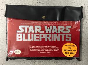 Star Wars Vintage Blueprints (15) New
