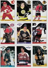 1985-86 OPC COMPLETE SET 1-264 +TOPPS STICKER 1-33 a