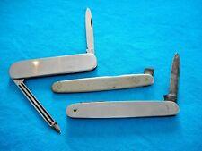 Vtg Folding Pocket KNIFE JA Schmidt & Sohne Rostfrei L.F. & C LOT of 3 Parts TLC