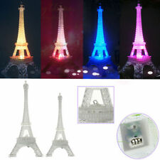 Amazing!! Romantic Eiffel Tower Table LED Night Light Desk Wedding Bedroom Decor
