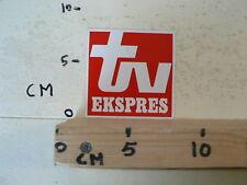 STICKER,DECAL TV EXSPRES A