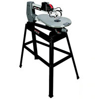 PORTER-CABLE 18-in 1.6-Amp Variable Speed Scroll Saw + Some Blades