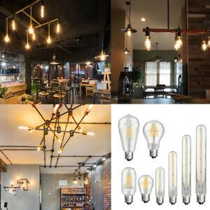 E27 Transparent Retro Vintage Wedding Restaurant Led Golf Ball Filament Bulb