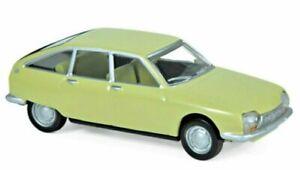 Norev 310915  CITROËN GS 1970 Citroën GS 1970 - Primevere Yellow   1:64