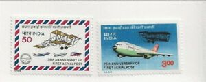 INDIA Sc 1116-7 NH issue of 1986 - AVIATION