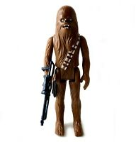 Chewbacca Vintage Star Wars Action Figure Complete 1977 Kenner HK First 12