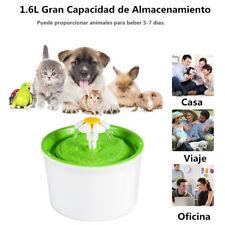 Fuente de Agua Para Mascotas Eléctrico Automático Estilo de Flor Gatos Bebedero