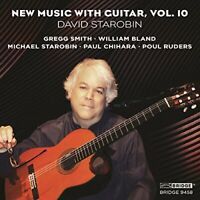 David Starobin - New Music With Guitar Vol 10 [David Starobin] [CD]