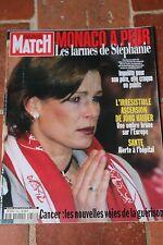paris match 2646 du 10 fevrier 2000 stephanie de monaco lara fabian johnny depp