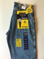 WRANGLER Men's Premium Performance Stonewash Regular Fit Jeans 47MWZSW NWT
