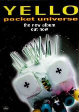 YELLO - 1997 - Promoplakat - Pocket Universe - Poster